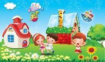 儿童节卡通素材图片