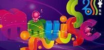 2011兔年音乐俱乐部贺卡