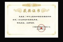 10款 荣誉证书奖状模板