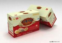 丹麦风味饼干食品包装设计PSD文件