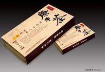 河源特产-康禾茶包装盒效果图