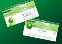 绿色食品名片