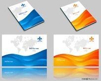 两套企业画册封面CDR