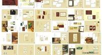9款 简洁大气五星级大酒店VI系统素材PSD下载