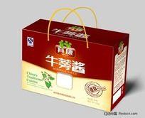 牛蒡酱礼品盒包装设计