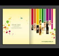 个性彩妆画册封面PSD设计