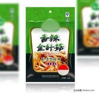 金针菇腌菜食品包装袋