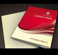 红色封面设计psd素材