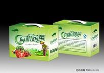 有機蔬菜禮品包裝盒設計