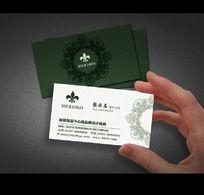最新古典中国风高档名片PSD