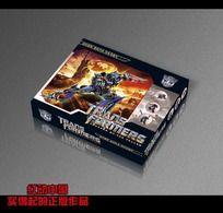 变形金刚玩具包装盒设计psd PSD