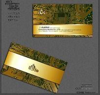 电子维修行业名片CDR CDR