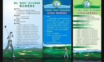 高尔夫比赛海报和易拉宝设计