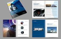 8款 汽车宣传画册版式设计PSD下载