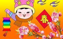 春年画 幼儿园环境装饰画