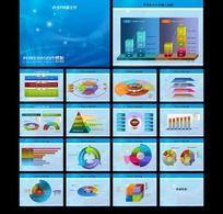 蓝色科技行业PPT