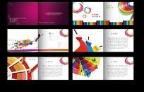 印刷厂画册模板 企业画册版式设计