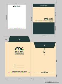 地产信封 信纸设计