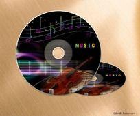 音乐光盘封面设计psd源文件