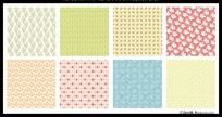 9款 原创矢量花纹底纹系列AI设计下载