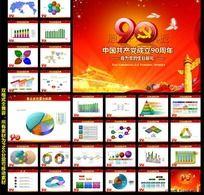 纪念中国共产党成立90周年PPT演讲稿