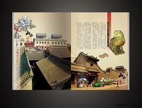 山西印象之曹家大院旅游画册