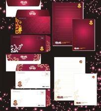 8款 信封信纸设计CDR下载