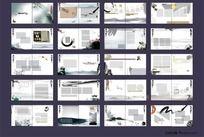 10款 中国风同学录画册纪念册矢量CDR下载