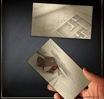 房地产设计师名片素材 PSD