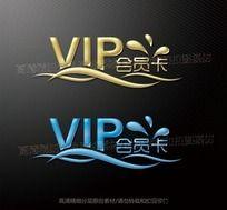 VIP会员卡艺术字体设计PSD模板下载 PSD