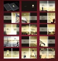 房地产楼书画册版式