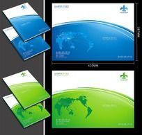 大气集团企业画册封面CDR