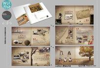 11款 青春同学录纪念册版式设计PSD下载