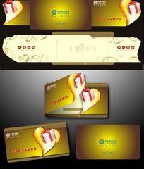 高档简洁中国移动礼物卡.cdr