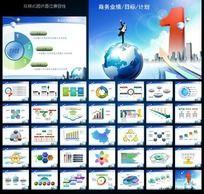 商务业绩报告计划总结ppt