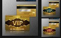 欧式风格高档VIP贵宾卡