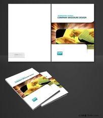 原创企业画册封面设计