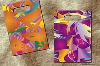 外贸彩绘图-精品袋