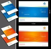 9款 简洁大气企业画册封面矢量图PSD下载