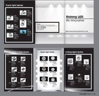 灯具宣传页设计