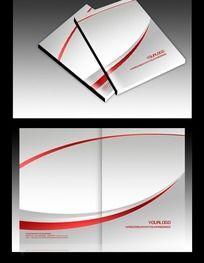 简洁大气高档画册封面设计