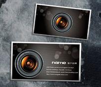 摄影名片设计模板 PSD分层模板