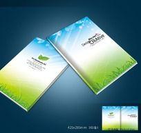 绿色环保画册设计封面