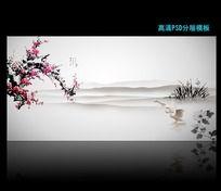 大气水墨中国风背景