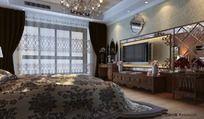 美欧式卧室模型设计