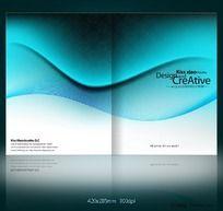 蓝色科技画册 IT行业画册封面设计
