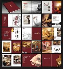精美大气装饰公司宣传画册设计