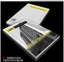 建筑公司企业形象画册封面设计