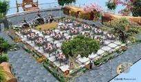 室内生态园效果图方案