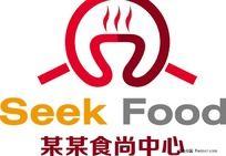 某食尚中心logo设计